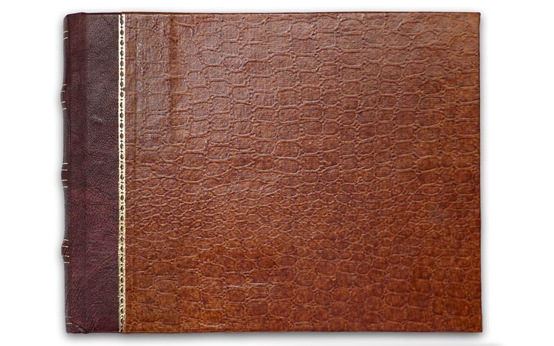 Fotoboekje Leatherlook 20 cm X 15 cm (A)