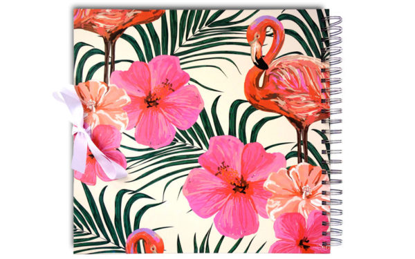 Scrapbook, Plakboek Flamingo's