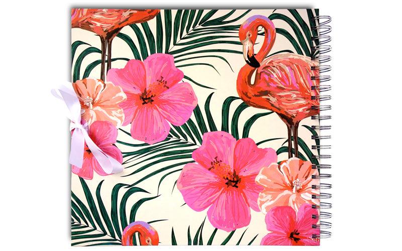 Scrapbook, Plakboek Flamingo's