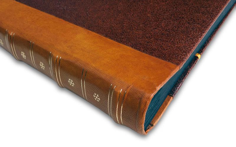 Fotoboek only natural leatherlook