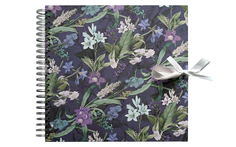 Plakboek, Floral Blue