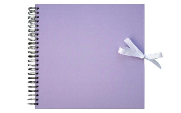 Plakboek- Scrapbook Lila 20X20