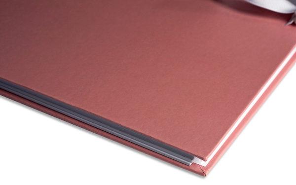 Plakboek oud roze