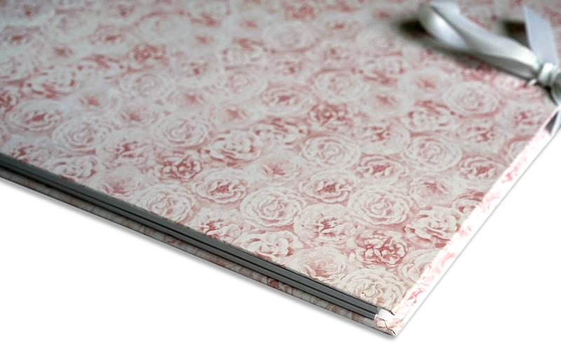 Scrapbook, plakboek, roses
