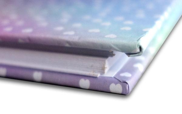 Scrapbook,Plakboek, Fotoboek 'Sparkel hartjes'