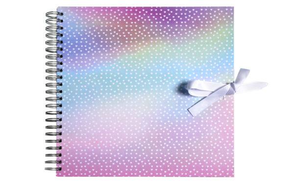 Plakboek- Scrapbook- Fotoboek SparkelHartjes