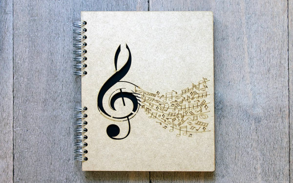 Notebook Muzieknoot