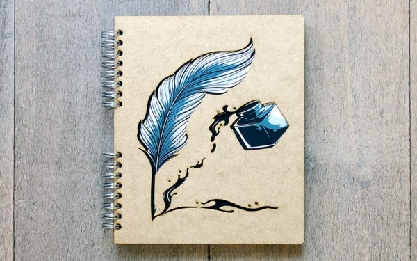 Notebook 'Veer & Pen'