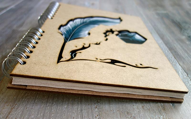 Notebook 'Veer & Pen'