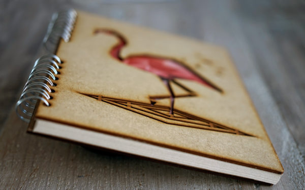 Notebook Flamingo