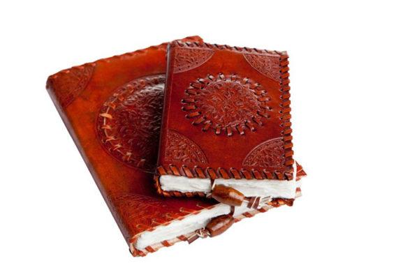 Leren boek Keltische motief