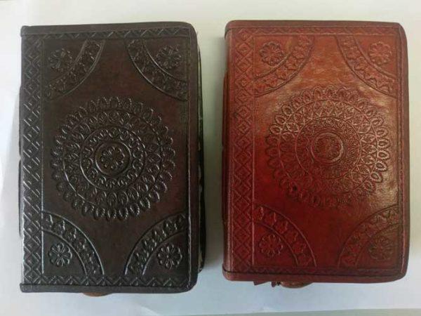 leren notitieboek