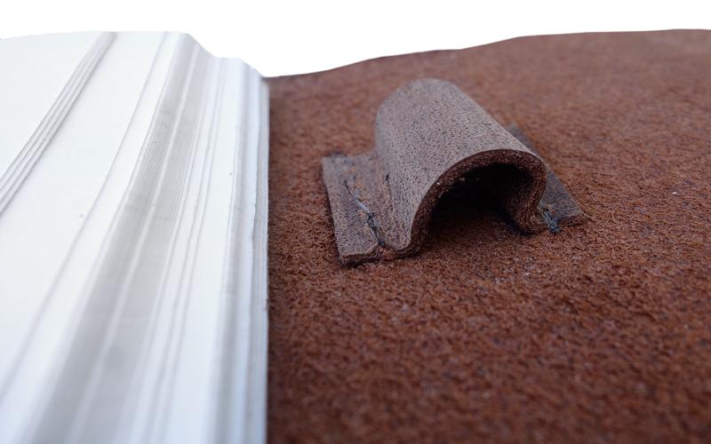 buffel leren notitieboek