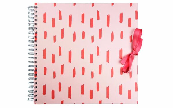 Plakboek Scrapbook Fotoboek Red Stripe