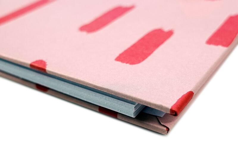 Plakboek Scrapbook Fotoboek Red Stripe