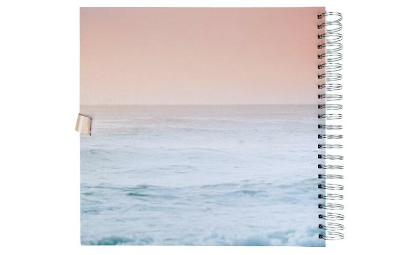 Plakboek,Scrapbook,Fotoboek Seaside