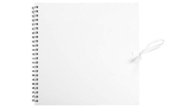 Plakboek- Scrapbook- Fotoboek Wit