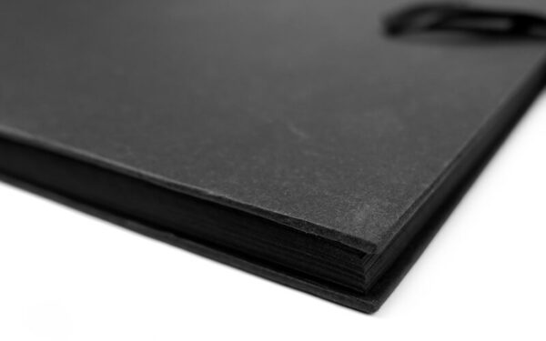 """scrapbook plakboek zwart 12"""""""