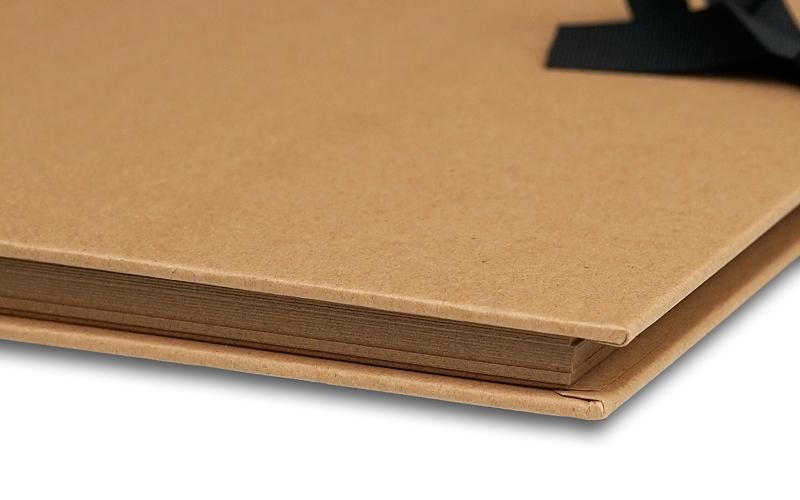 Plakboek - Scrapbook - Fotoboek Universeel Bruin