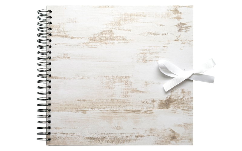 Plakboek- Scrapbook Hout 20X20