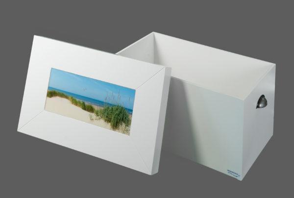 herinneringskist, foto met epoxy